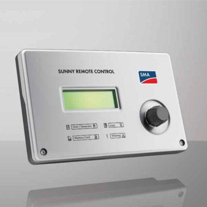SMA sunny island energy remote control